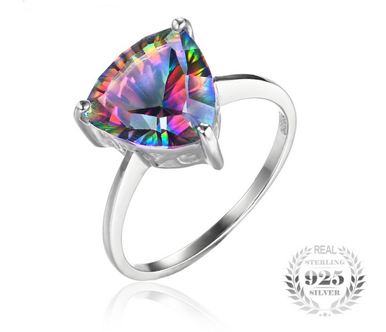 feshionn products solitaire gems cut copy ring wedding iobi round of fire precious topaz genuine rings rainbow mystic