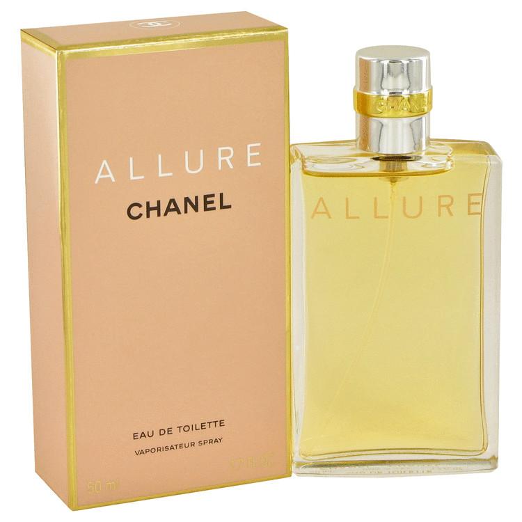 Allure Perfume By Chanel For Women 17 Oz Eau De Toilette Spray